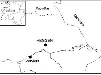 Les travaux miniers de Heggen à Baelen